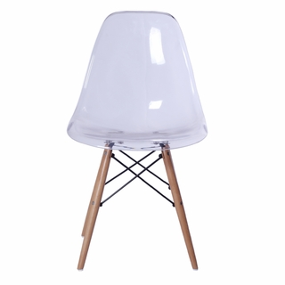 Enjoyable Glosswood Dining Side Chair Clear Modern In Designs Ocoug Best Dining Table And Chair Ideas Images Ocougorg