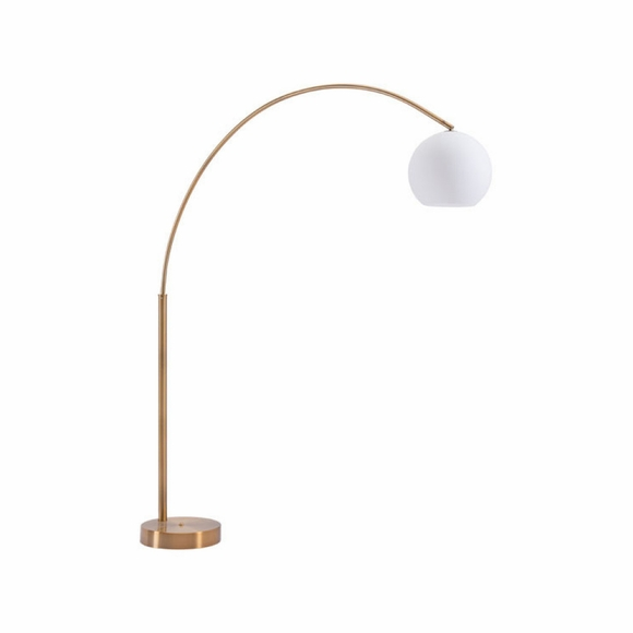 Griffith Floor Lamp in Brushed Brass