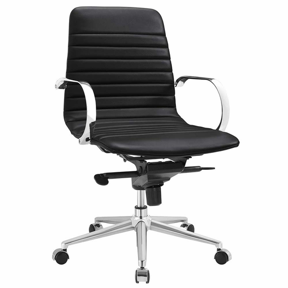 Groove Ribbed Back Office Chair