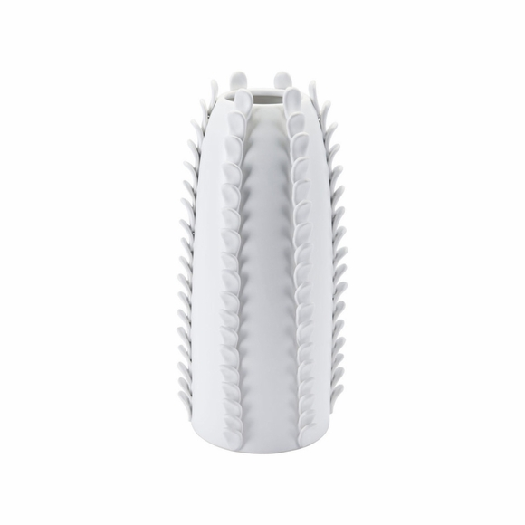 Guazu Large Vase in Matt White