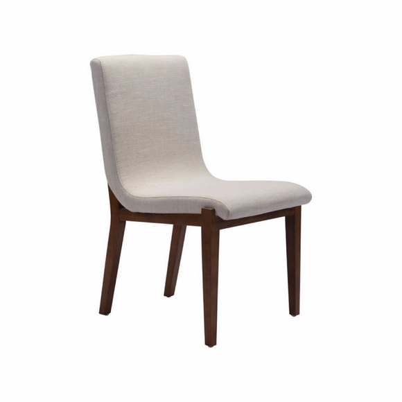 Hamilton Dining Chair Set of 2 in Beige