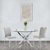 Hawes Glass Dining Table