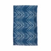 Ikat Pillow 3 in Blue & Natural