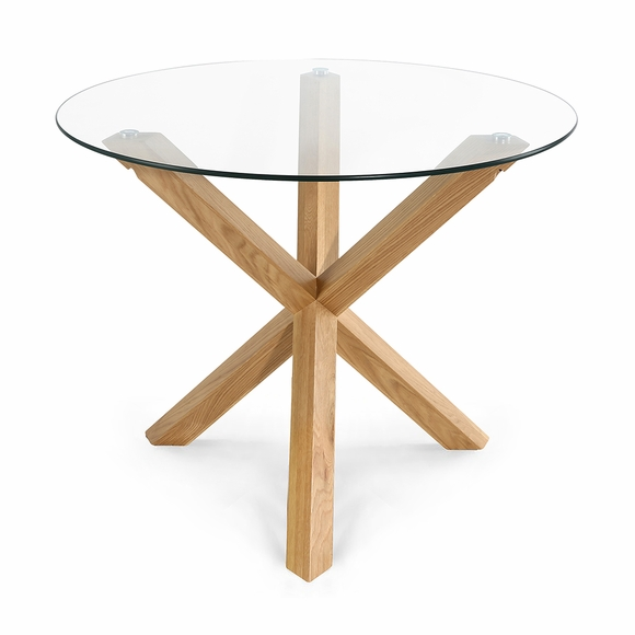 "Kennedy 37.4"" Round Dining Table"