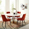 """Lippa 60"""" Round Dining Table in Rose White MID-3240"""