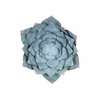 Lotus Large Wall Decor in Blue