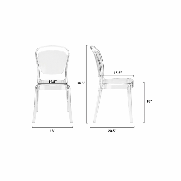 Lucent Dining Side Chair