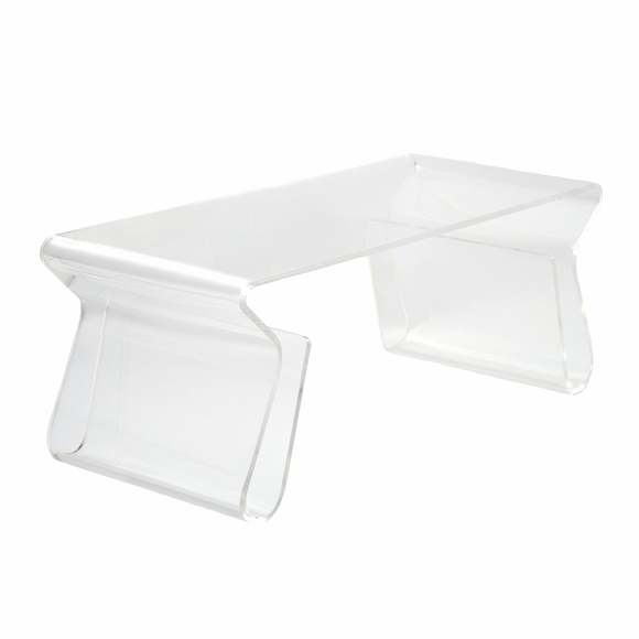 Mag Coffee Table in Clear