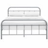 Maisie Full Stainless Steel Bed Frame