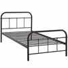 Maisie Twin Stainless Steel Bed Frame