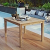 Marina Outdoor Patio Teak Dining Table in Natural MID-2715
