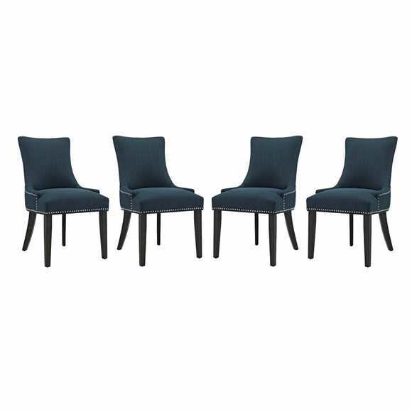 Marquis Dining Chair Fabric Set of 4