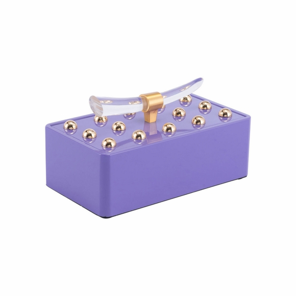 Mora Small Box in Violet