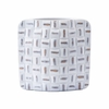 Mosaic Square Large Vase in White