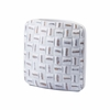 Mosaic Square Small Vase in White