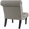 Navigate Upholstered Fabric Lounge Chair in Granite