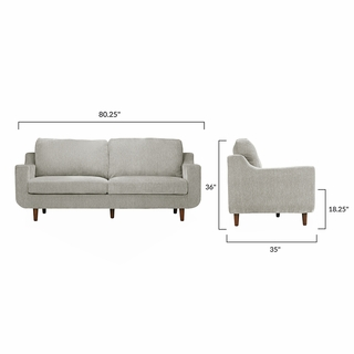 Nottingham Sofa In Grey Modern Designs