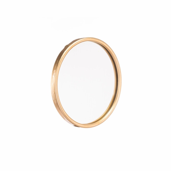 Ogee Mirror Small in Gold