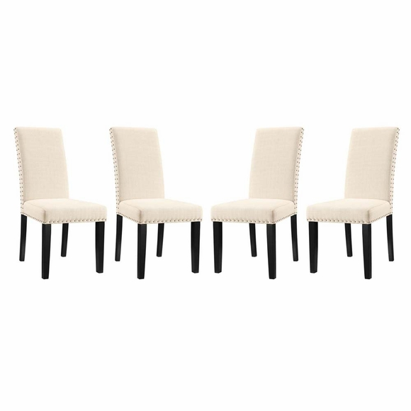 Parcel Dining Side Chair Fabric Set of 4