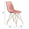 Parker Dining Chair Pink Set of 4