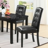 Perdure Dining Chairs Set of 2 in Black