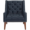 Peruse Faux Leather Armchair