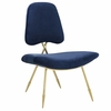 Ponder Upholstered Velvet Lounge Chair
