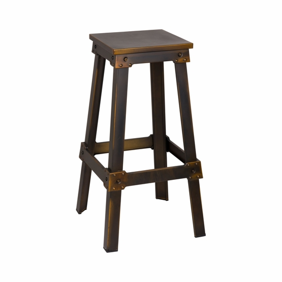 Porch Bar Stool in Copper