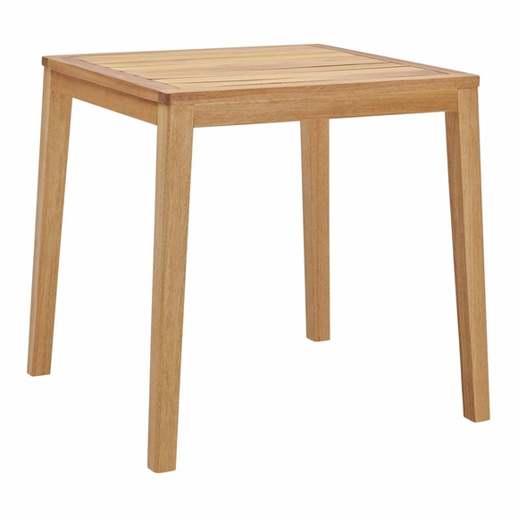 Portsmouth Karri Wood Outdoor Patio Bar Table in Natural