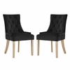 Pose Dining Chair Velvet Set of 2