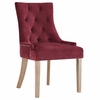 Pose Velvet Dining Chair