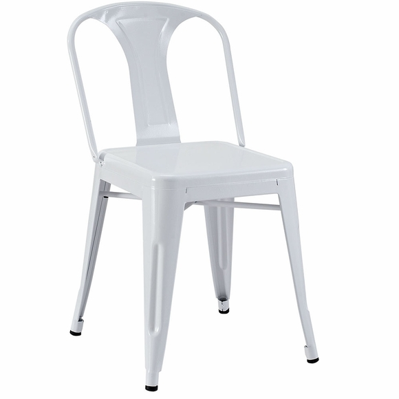 Promenade Dining Side Chair in White