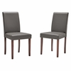 Prosper Faux Leather Dining Side Chair Set of 2