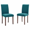 Prosper Upholstered Fabric Dining Side Chair Set of 2
