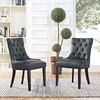 Regent Dining Side Chair Vinyl Set of 2