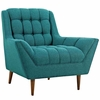 Response Upholstered Fabric Armchair
