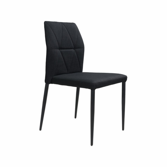 Revolution Dining Chair Set of 4 in Black