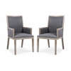 Rhone Dining Arm Chair ( Set of 2)