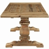 Rise Extendable Wood Dining Table in Brown