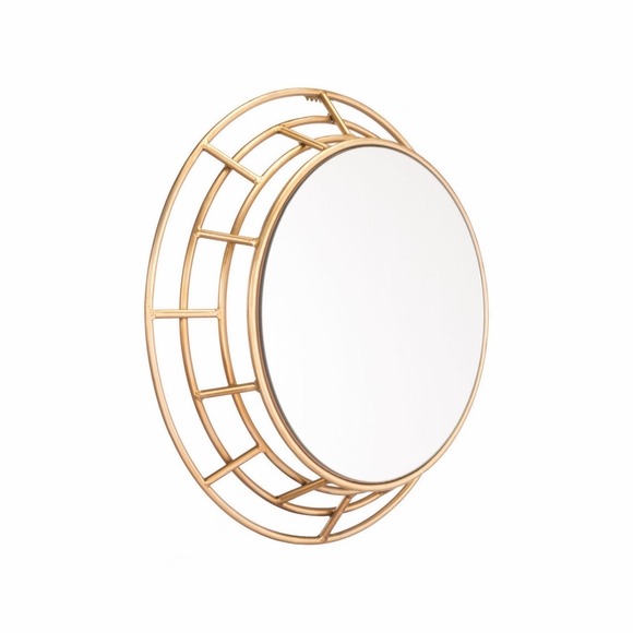 Roma Mirror in Gold