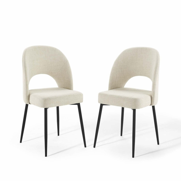 Rouse Dining Side Chair Upholstered Fabric Set of 2