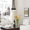 Saber Ceiling Fixture in Black