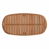 Saratoga Outdoor Patio Premium Grade A Teak Wood Oval Coffee Table in Natural