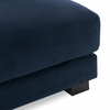 Shelby Armless Chair in Oxford Blue
