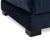 Shelby Ottoman in Oxford Blue
