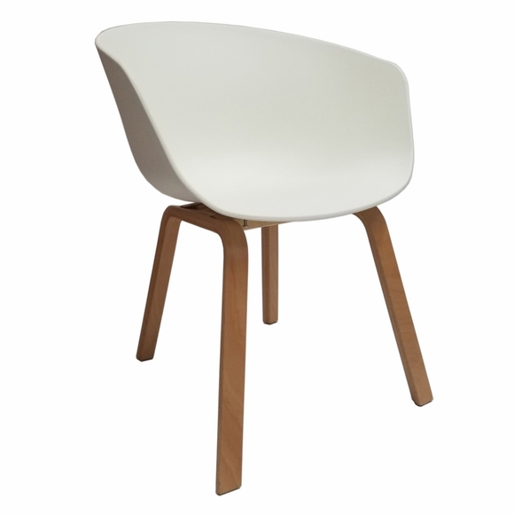 Shen Dining Chair in White