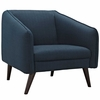 Slide Upholstered Fabric Armchair