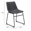 Smart Dining Chair Charcoal Set of 2