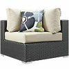 Sojourn 7 Piece Outdoor Patio Sunbrella Sectional Set MID-2379