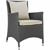 Sojourn Dining Outdoor Patio Sunbrella® Armchair